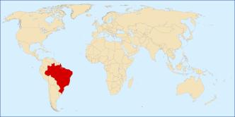 Dove si trova il Brasile nel mondo