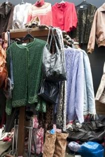 Vestiti nel mercatino di Brick Lane
