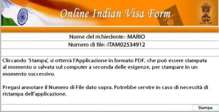 ID definitivo visto india