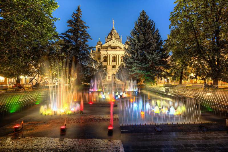 kosice-singing-fountain
