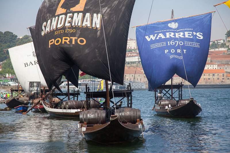 barche tipiche porto
