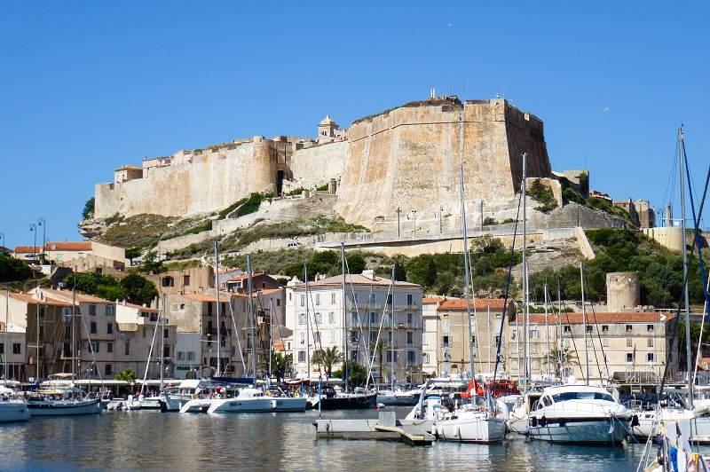 Corsica in moto Bonifacio