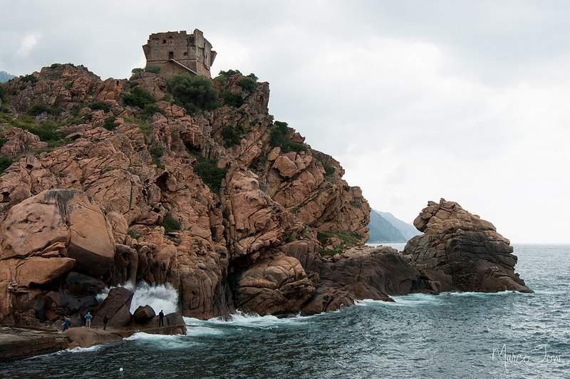 Corsica in moto Porto