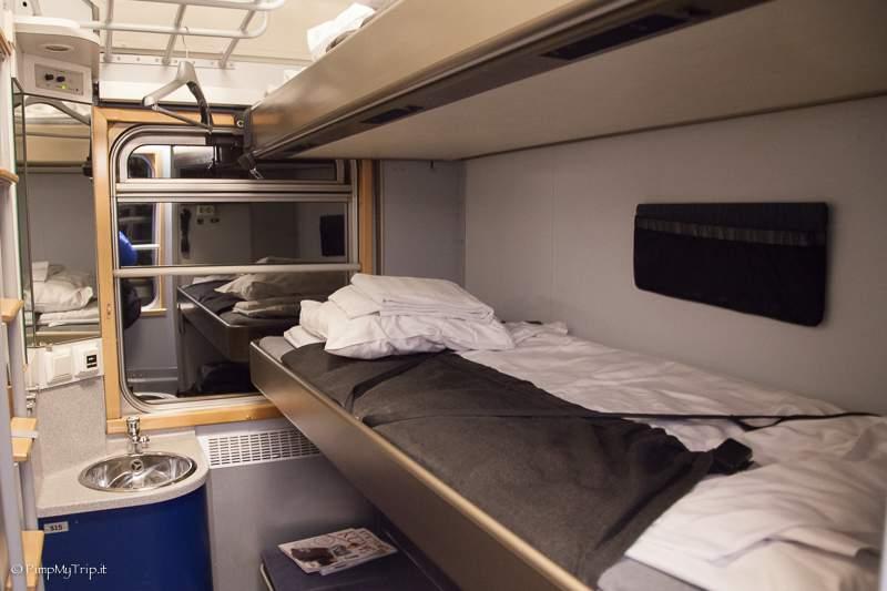 Foto vagone letto trenitalia decora la tua vita for Cabina sul lungomare kalahari