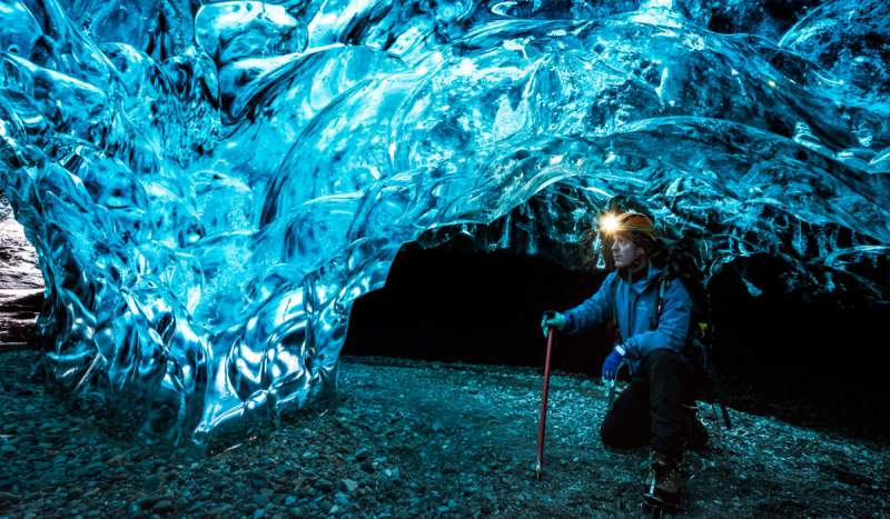 ice-caving