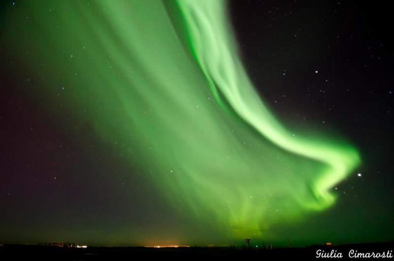 Aurora-boreale-reykjavik