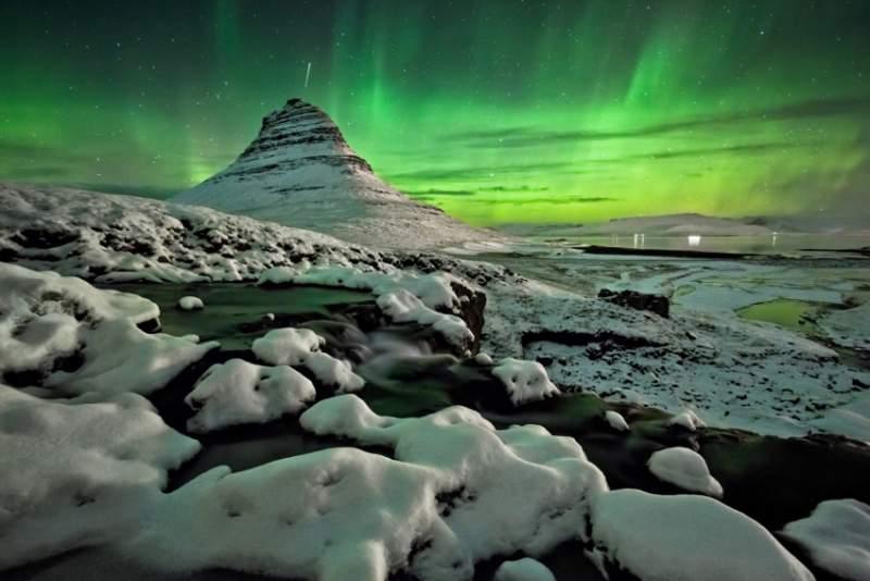aurora-boreale-kirkjufell