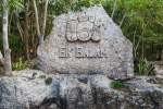 Ek Balam, arrampicarsi sulle rovine Maya della città Giaguaro