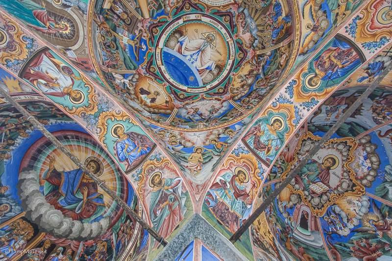 affreschi-monastero-rila