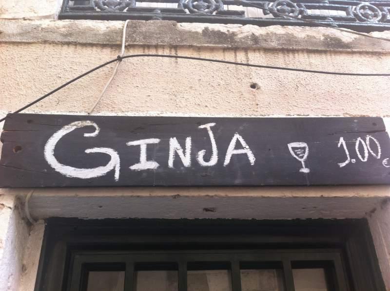 Portogallo cosa vedere Ginja