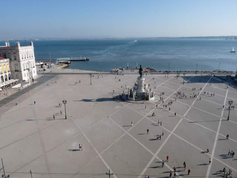 Portogallo cosa vedere Lisbona - Praca do Comercio