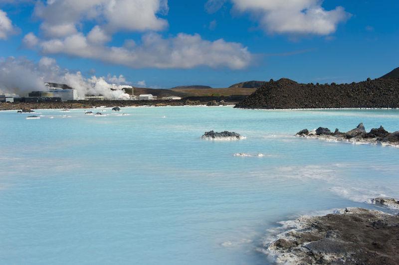 Grindavik laguna blu