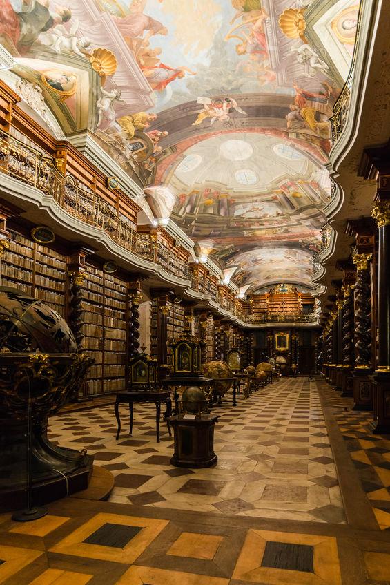 clementinum biblioteca