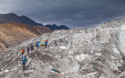 trekking ghiacciaio Viedma