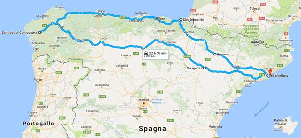 Spagna Nord Cartina.La Spagna Del Nord In Moto Dai Pirenei All Oceano Atlantico