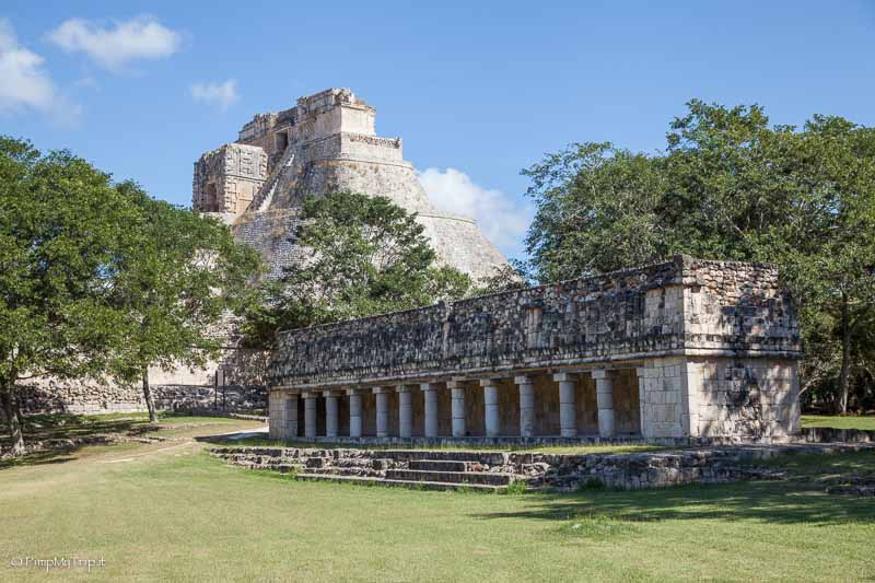 rovine maya uxmal