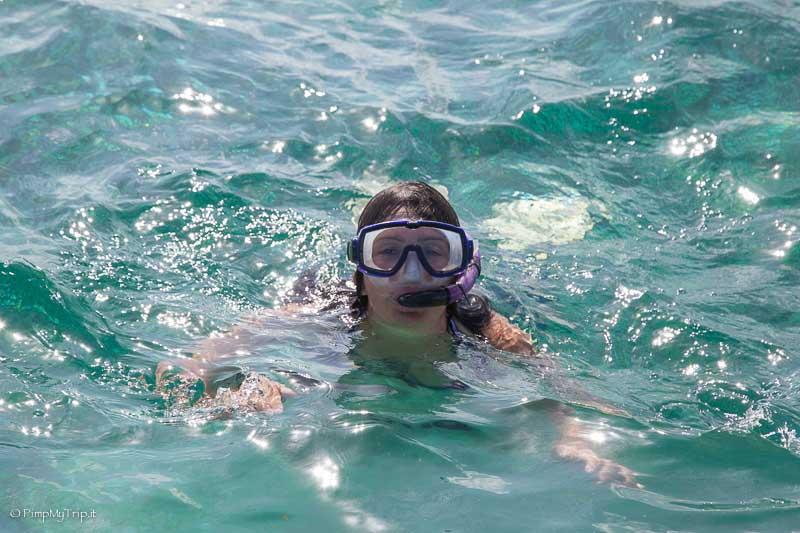 Snorkelling riviera maya