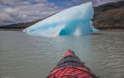 Kayak Lago Grey Cile