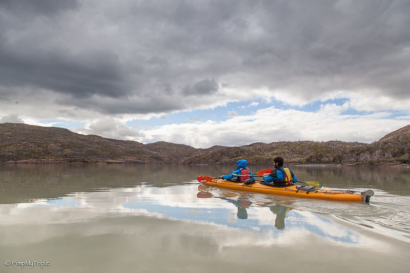 kayak in patagonia