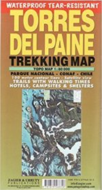 Mappa Torres del Paine