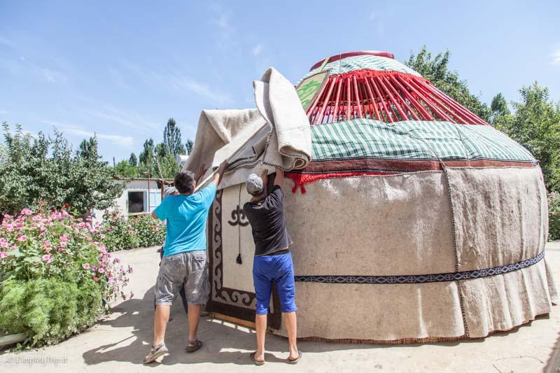 feltro yurta
