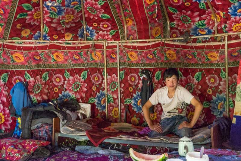 decorazioni interno yurta