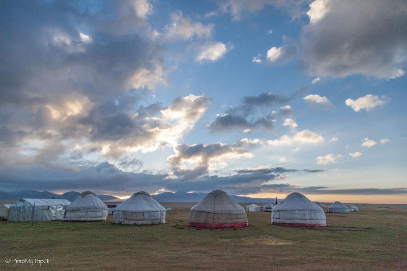 yurte Song Kol Kirghizistan