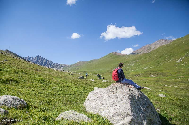 trekking Ak Suu kirghizistan