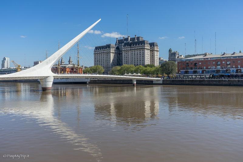 puente de la muyer puerto madero