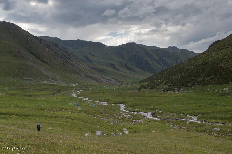 trekking kirghizistan