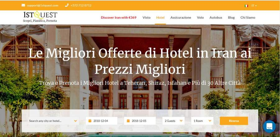 prenotare-hotel-iran-online
