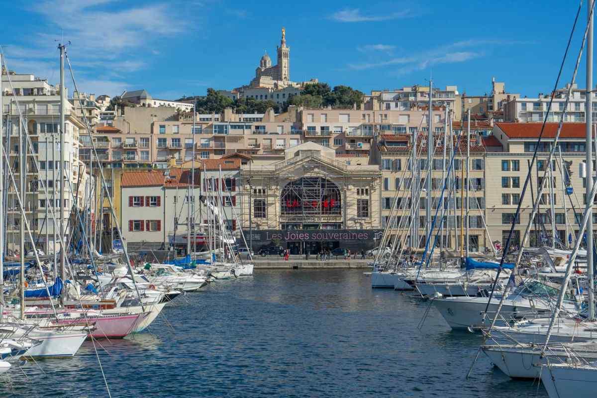 vieux port marsiglia