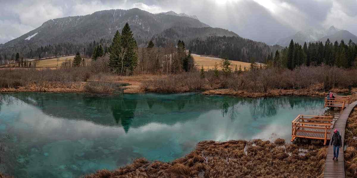 lago zelenci slovenia