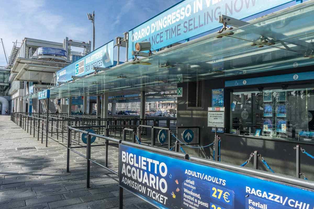 acquario di Genova biglietteria