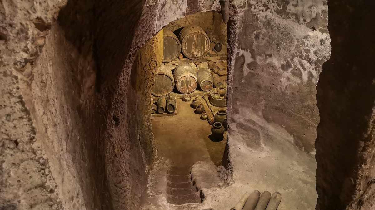 pozzo della cava interno