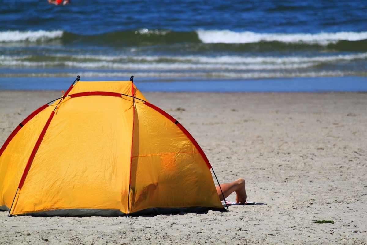 tende da spiaggia