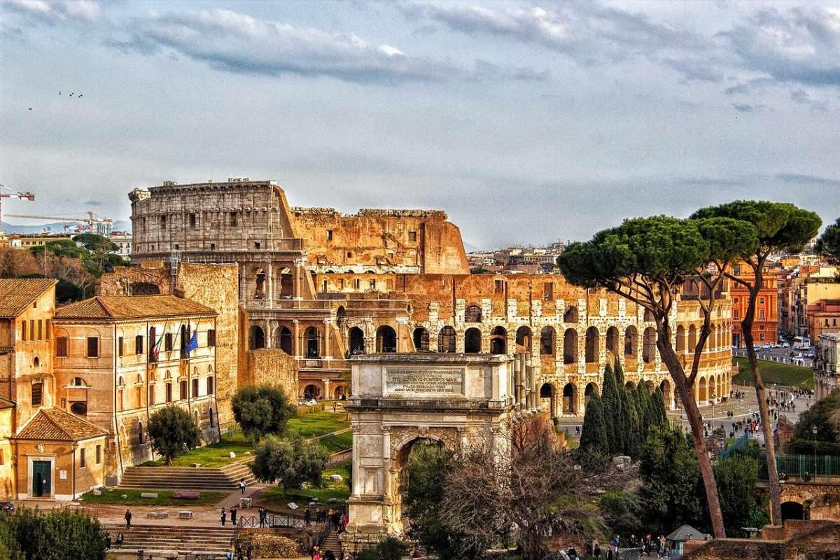 Colosseo, Foro Romano e Palatino