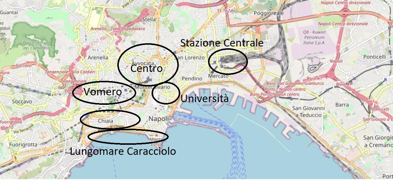 Dove alloggiare a Napoli quartieri migliori