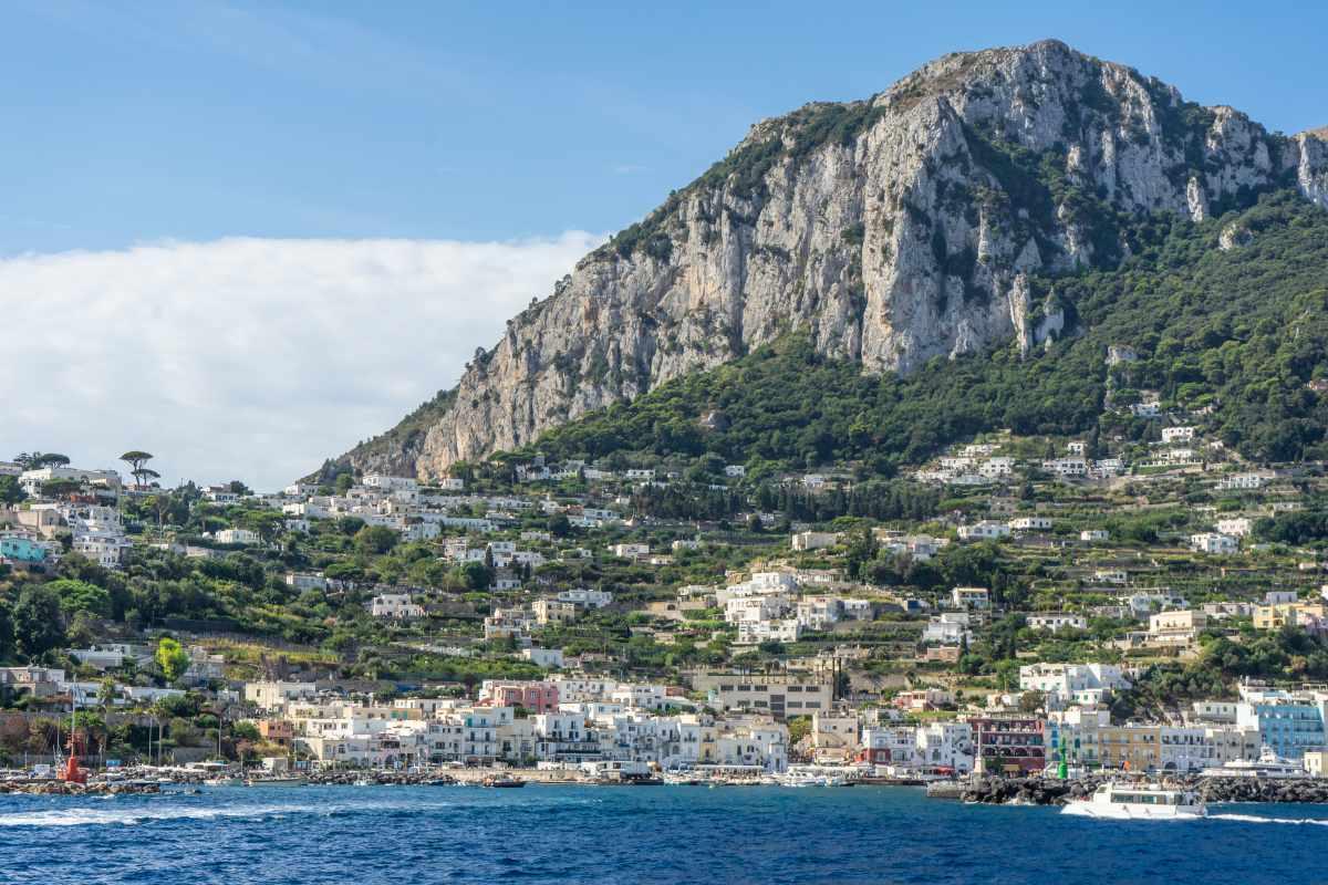 escursione Napoli Capri