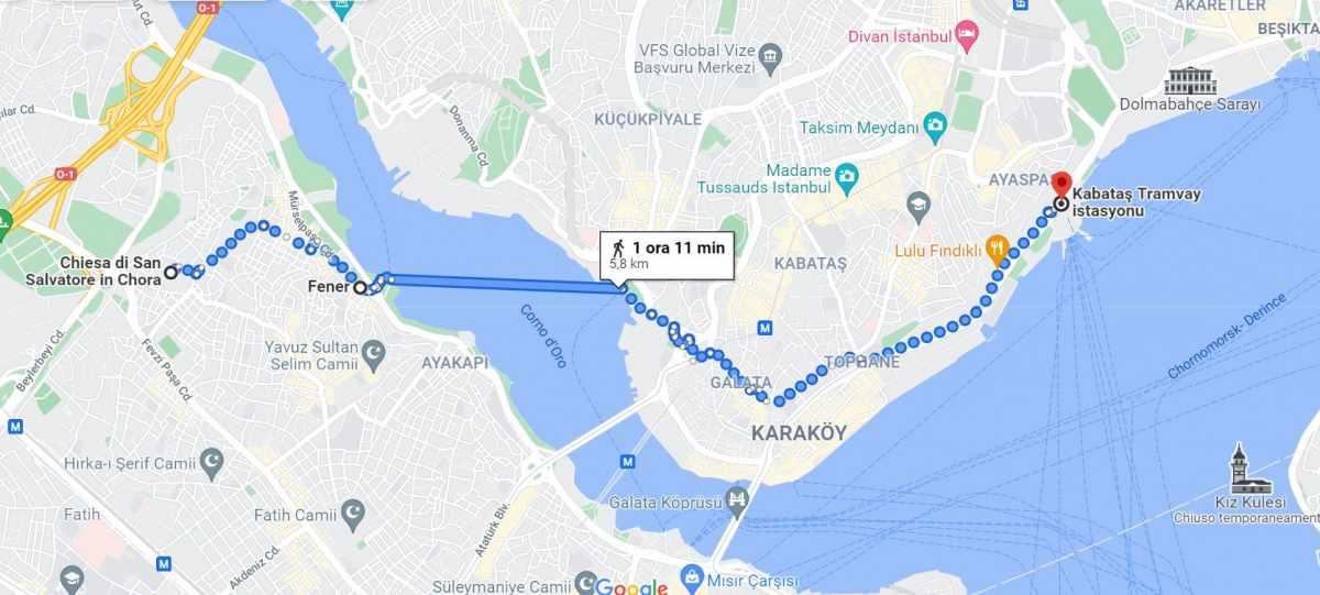 Mappa cosa vedere Istanbul giorno 3